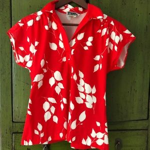 Cutie Vintage Aloha top